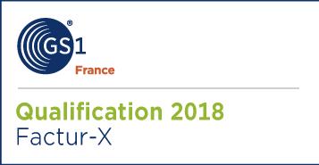 GS1 France - Qualification Factur-X 2018