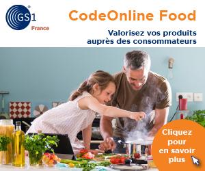Code Online Food GS1 France